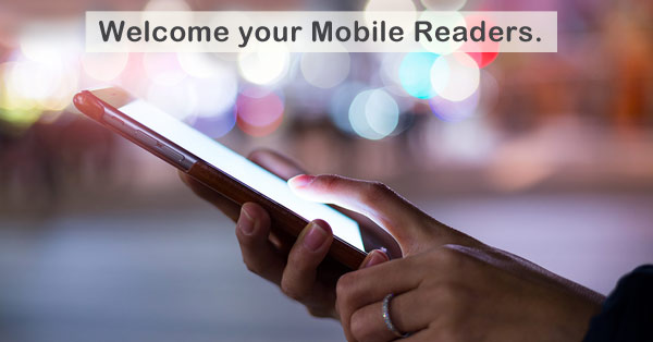 Welcome your Mobile Readers