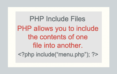 PHP Include File