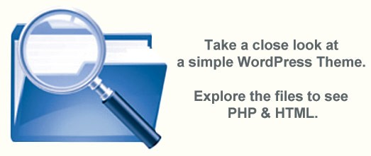 WordPress Theme with PHP