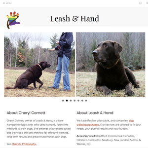 Leash & Hand - Bradford NH
