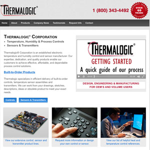 Thermalogic website - Hudson, MA
