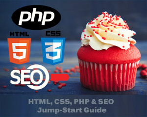 html, css, php, SEO jump-start guide