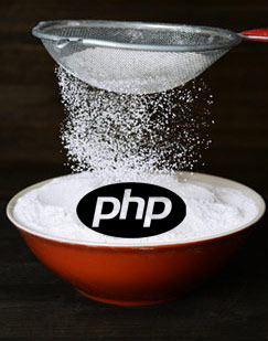 php for web design