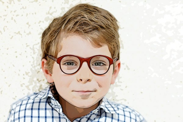 Twitter Tutorial Example - Boy with Glasses