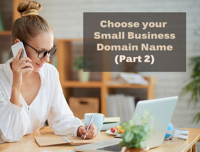 Choose Small Business Domain Name - Part 2