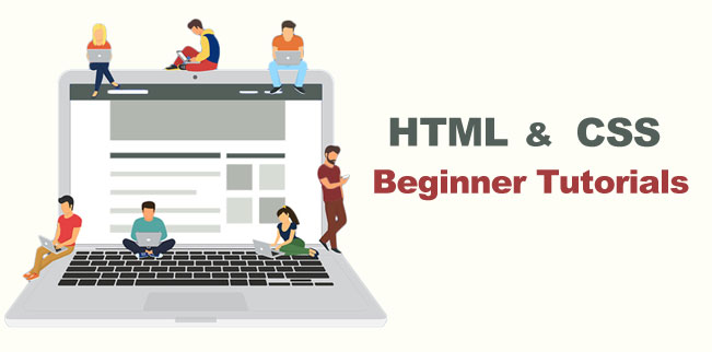 HTML & CSS Beginner tutorials