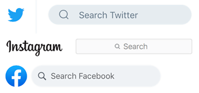 Social Hashtag Search