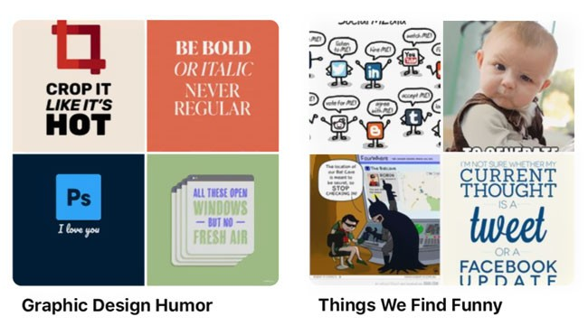 Funny Pinterest Boards - Graphic Design Humor