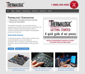 custom web design example