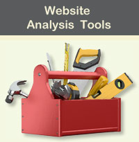Website Analysis  Tools